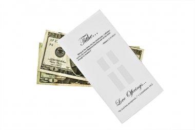 Tithe Envelop and Cash