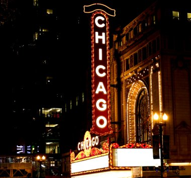 Famous Chicago theater