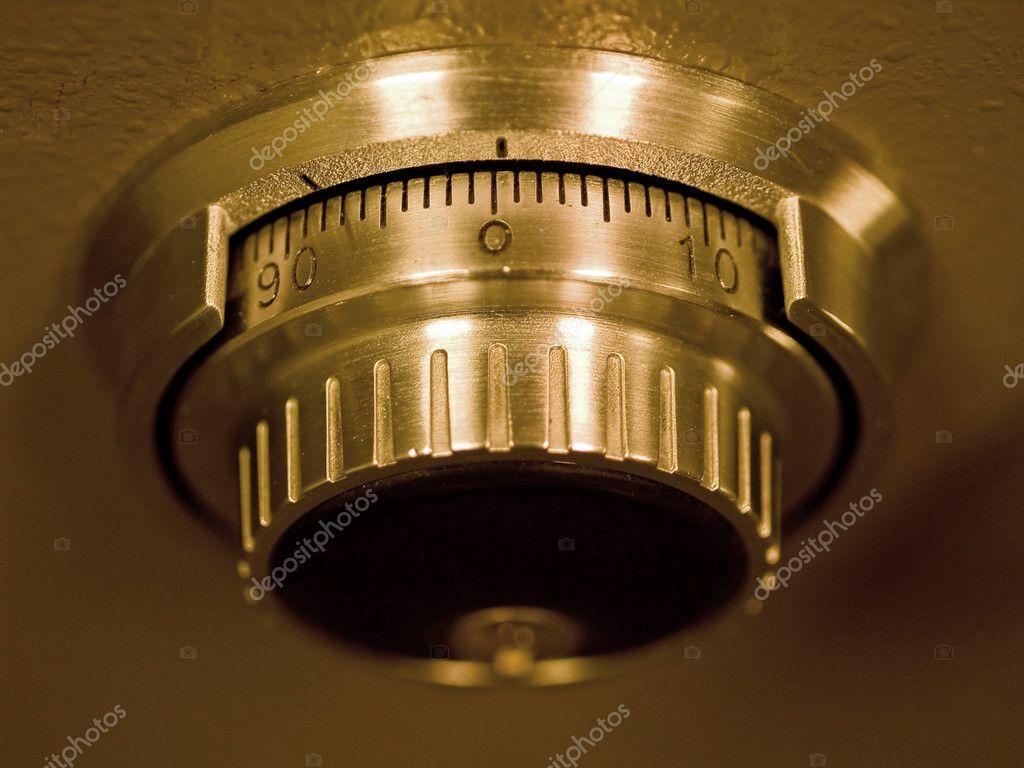 Safe Vault Combination Spinner