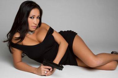 Sexy Gun Girl