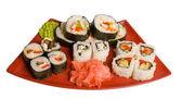 Válcované a sushi