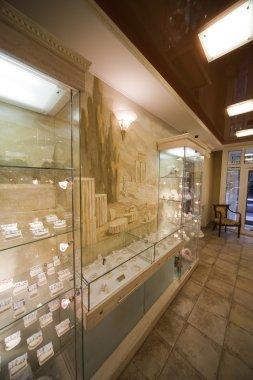 Interior Of A Jewel Shop