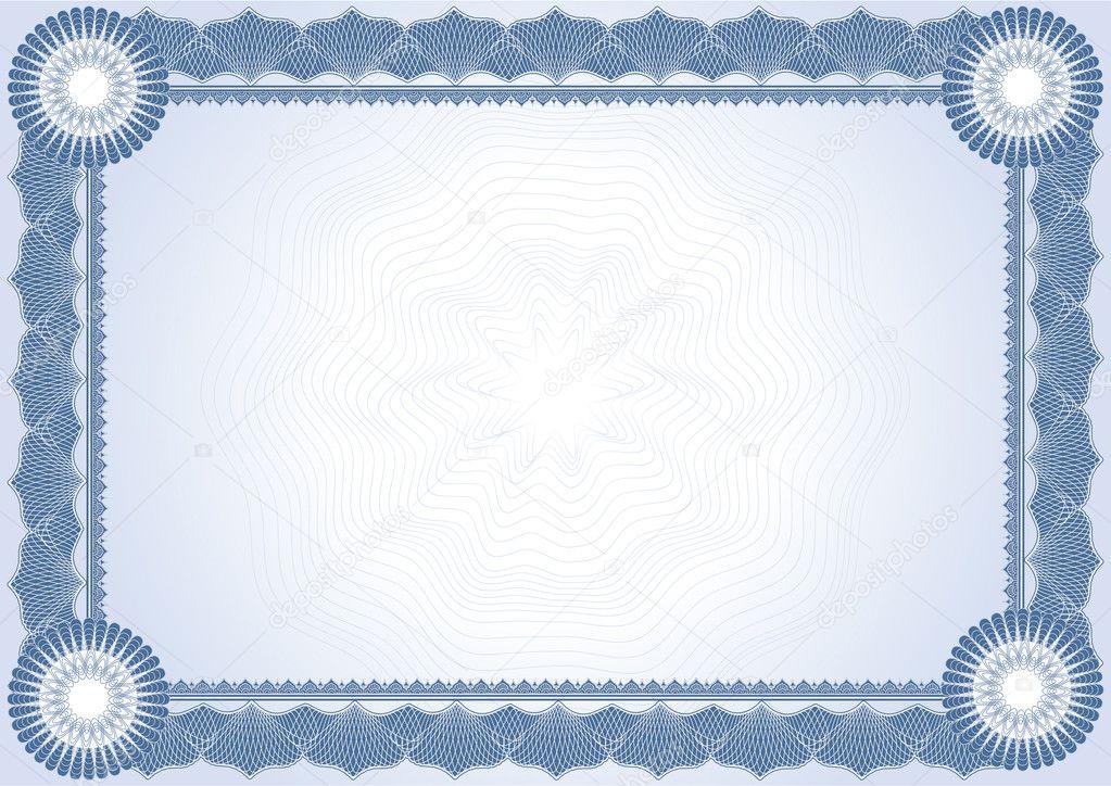 Certificate diploma