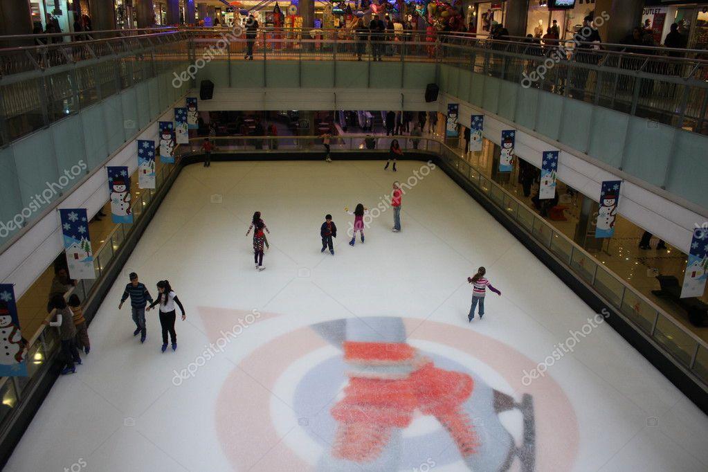 Zona pattinaggio coperta di ghiaccio pattinaggio for Piani di coperta autoportanti