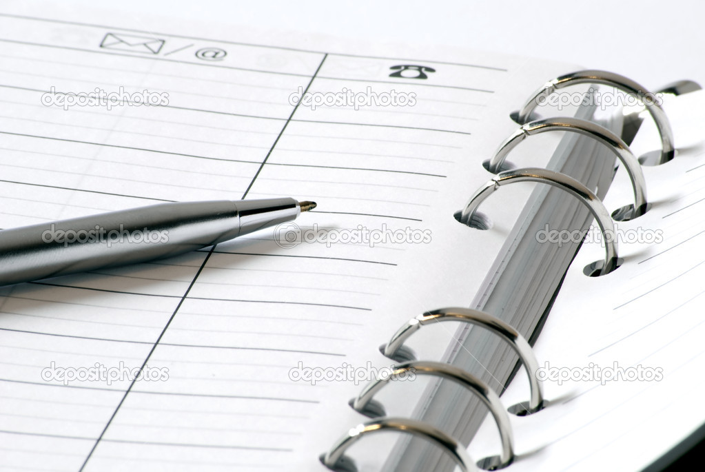Pen and Address book