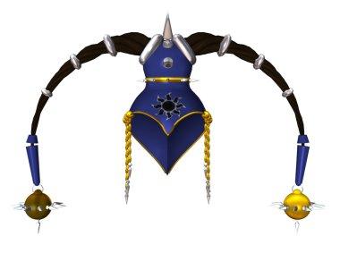 Blue Gold Headdress