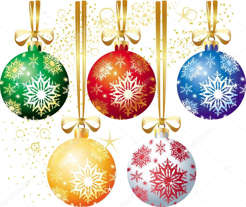 Christmas ball stock vector wikki33 2514705 for Bolas de navidad baratas