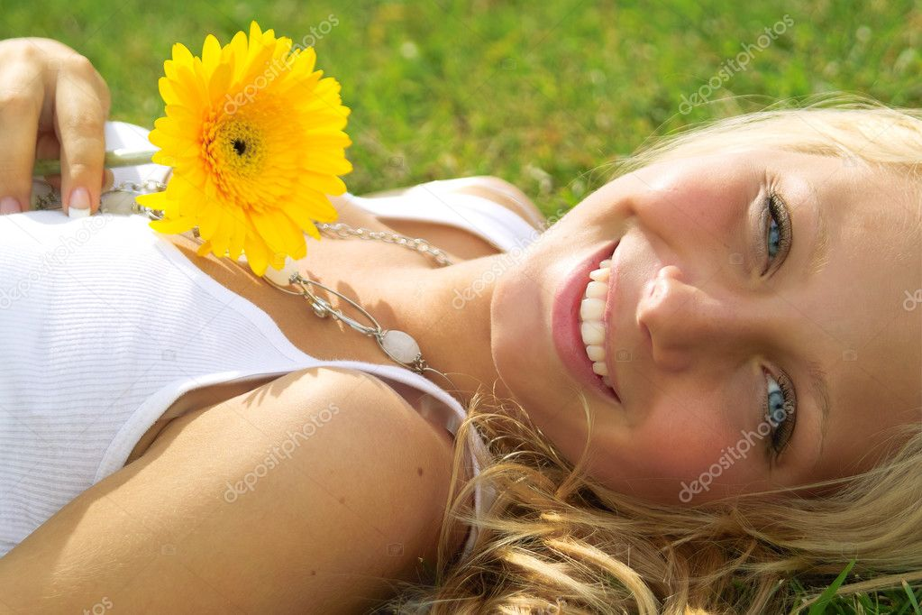 Beautiful girl outdoors