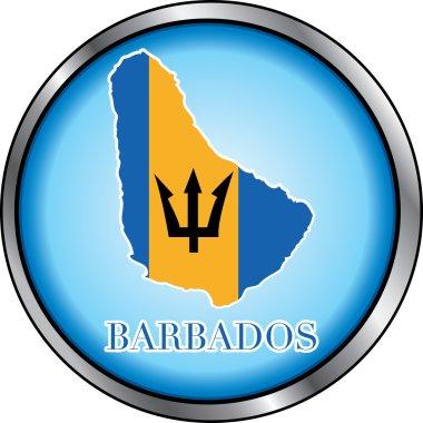 Barbados Round Button