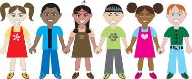 Kids Hold Hands 1