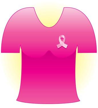 Pink Cancer Ribbon