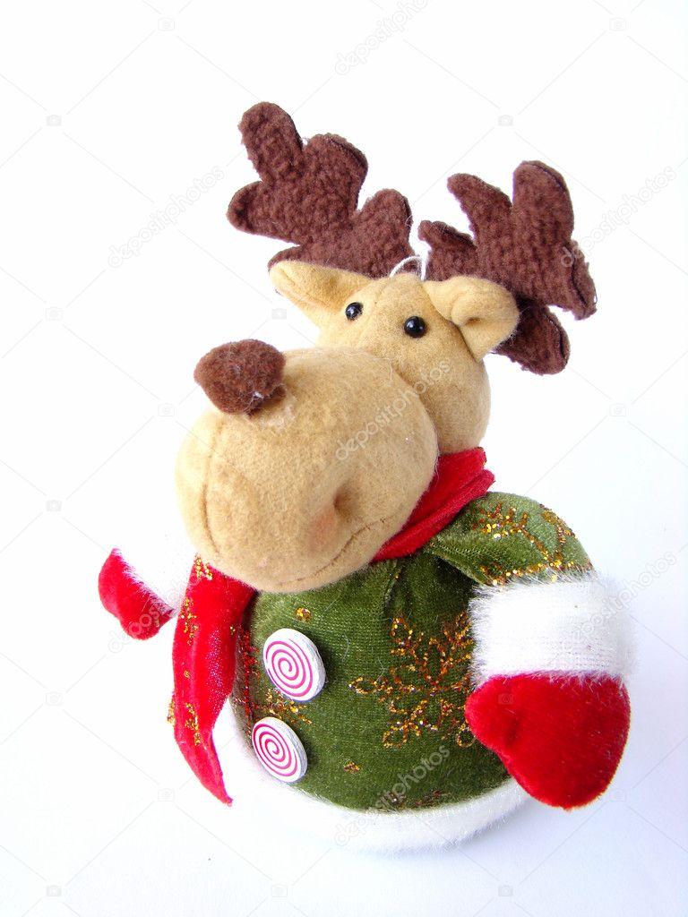Frohe Weihnachten Elch Arktis & Antarktis Weihnachtselch Stofftier Kuscheltier Teddybear Teddy