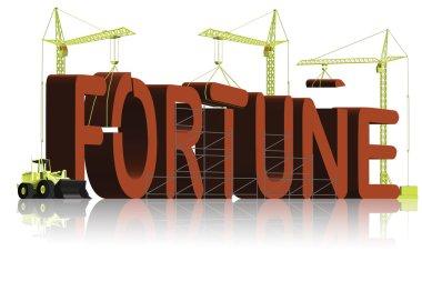 Fortune make money build capital