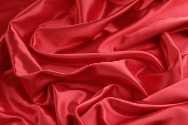 Red Satin Background -- Horizontal
