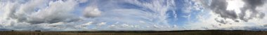 Panoramic sky