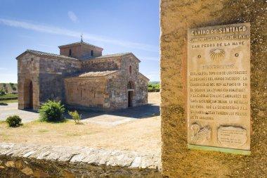 Road to Santiago de Compostela