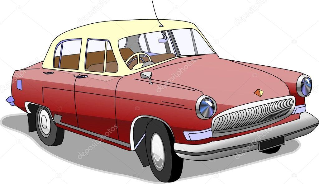 Old car — Stock Vector © ressormatt #2589092