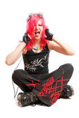 Punk-Mädchen