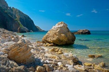 Stones on a Black Sea coast