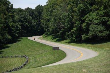 Blue Ridge Parkway - Mountain Pass