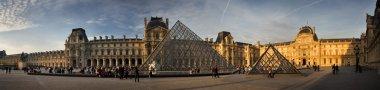 Louvre panorama. Paris