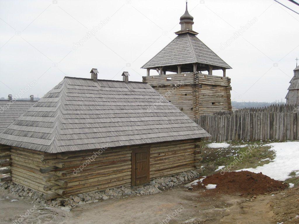 Arquitectura de madera fotos de stock ivettadolya 2581417 for Arquitectura de madera