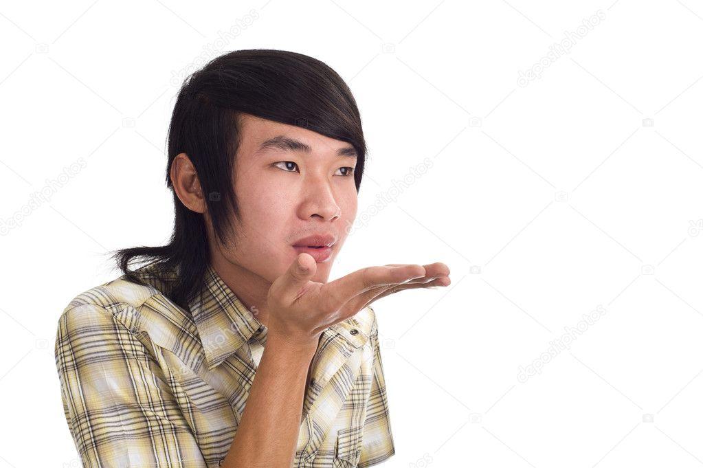 гей молодой азиатский