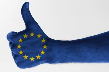 Thumb up european union