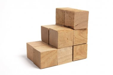 Stacks of Wooden Blocks