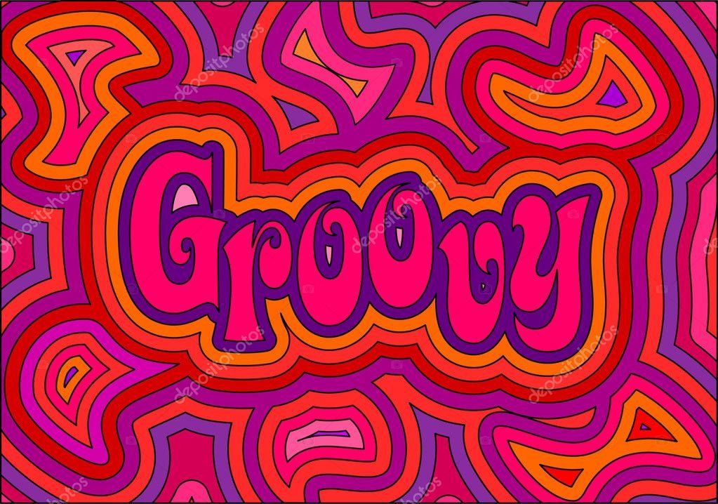 Groovy Stock Vector Image by ©PrincessZelda #2468433
