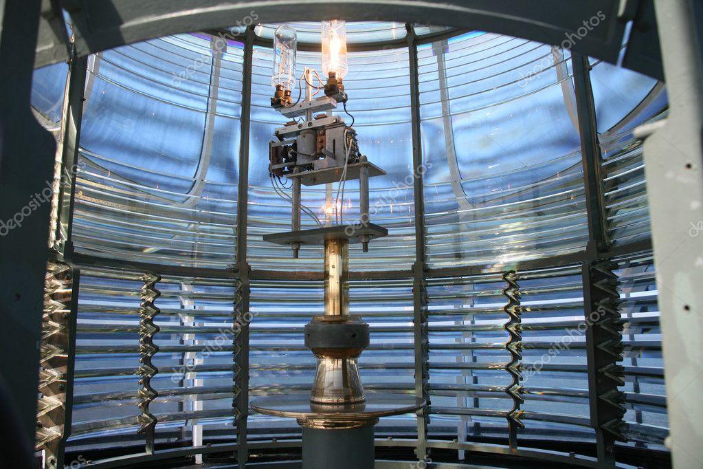 Interior Lighthouse Lantern U2014 Stock Photo