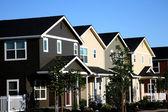 řada měšťanských domů