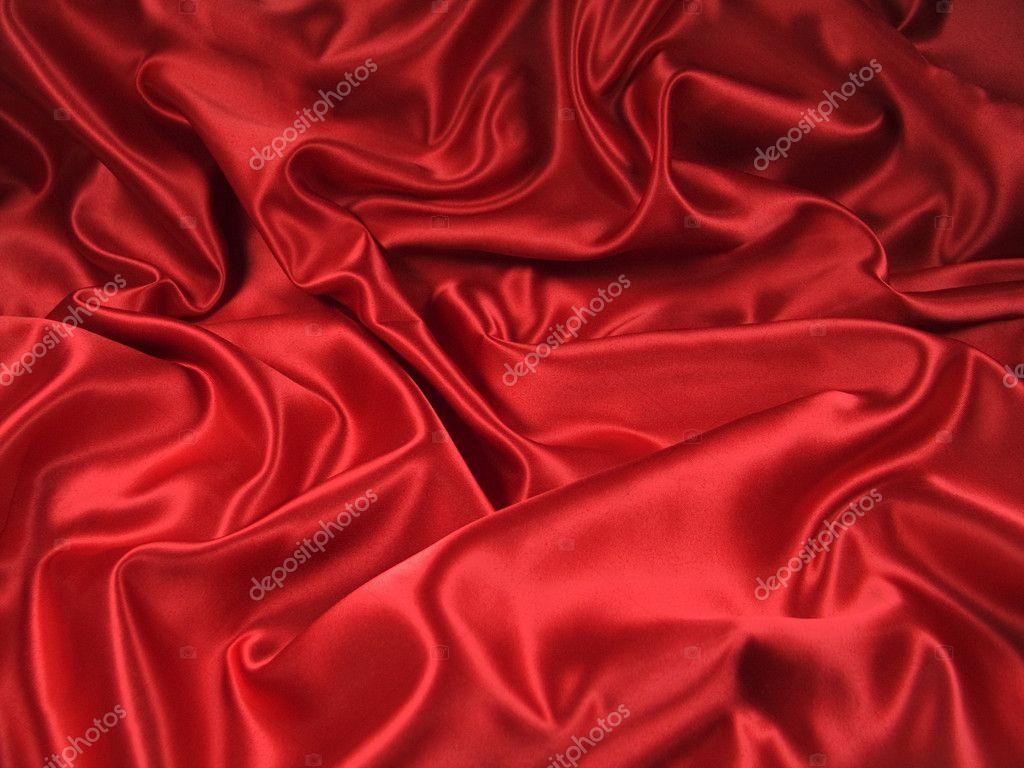 Red Satin Fabric [Landscape]