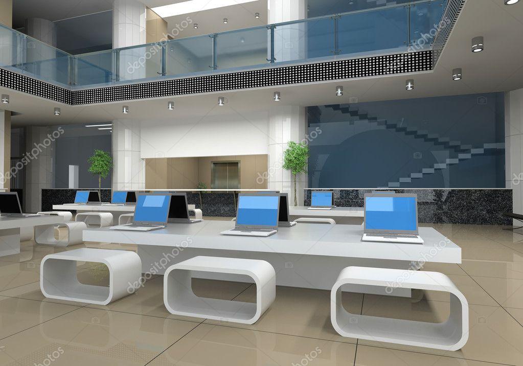 Modern Kantoor Interieur : Moderne kantoor interieur u stockfoto vicnt