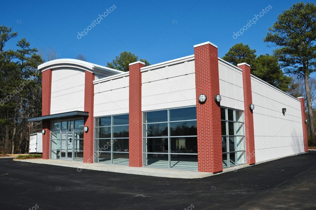 New Modern Commercial Building Stock Photo Eyemark