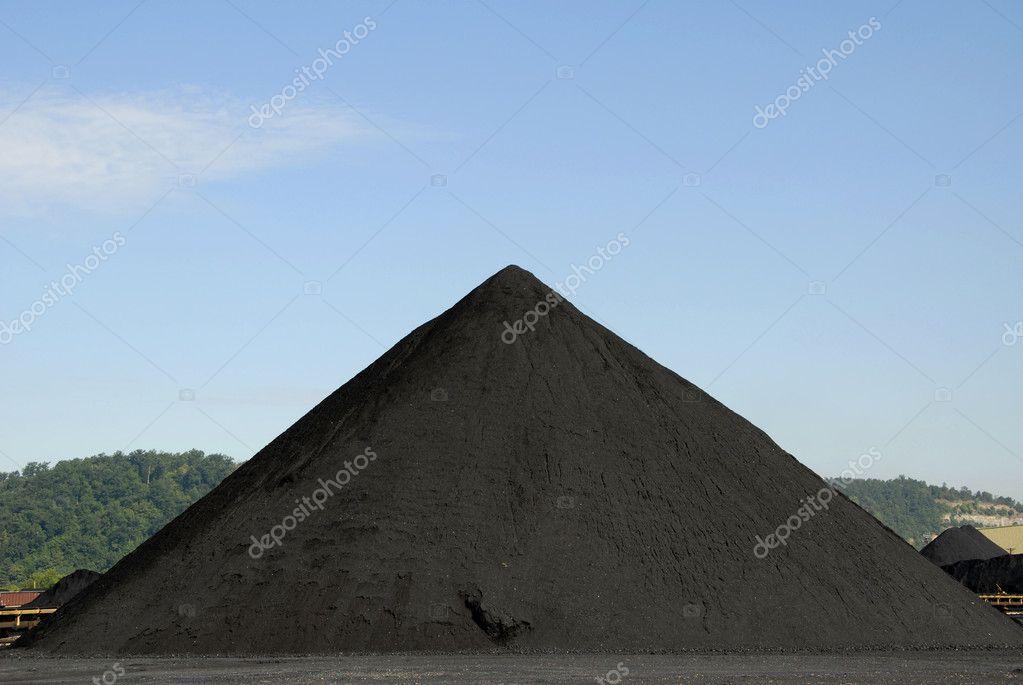 Stockpile of Coal