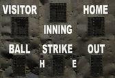 Baseballové vysvědčení