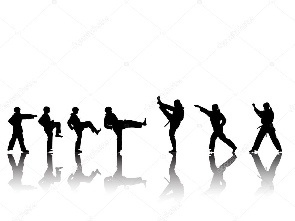 taekwondo stock vectors royalty free taekwondo illustrations