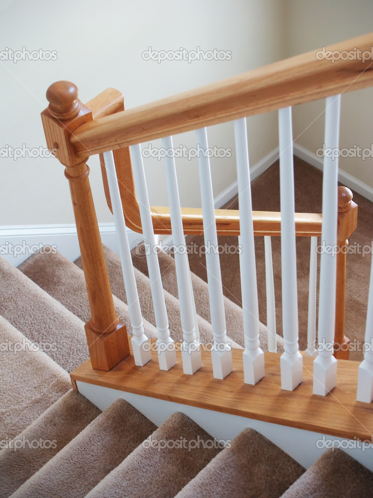 Vertikale Teppich Treppen Stockfoto C Digerati 2615844