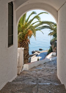 View of the Mediterranean Sea