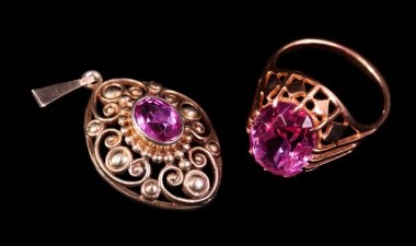 Pendant and a ring
