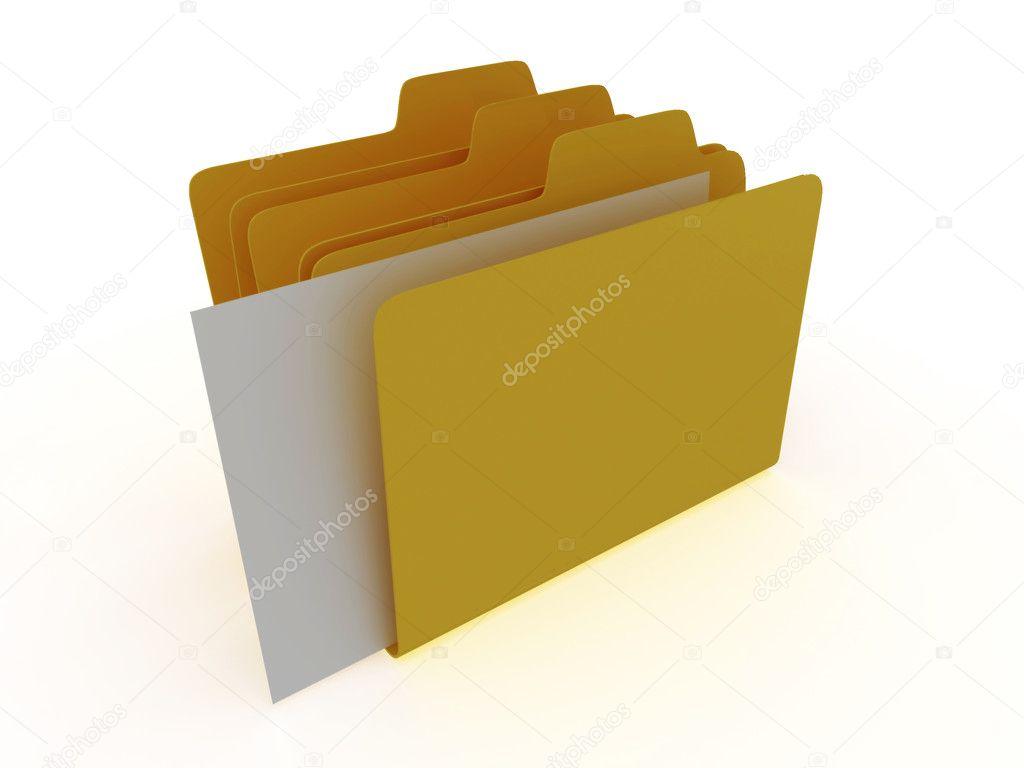 File Folder Stack
