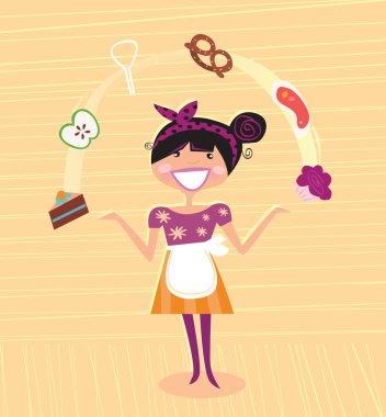 Mother - kitchen super hero