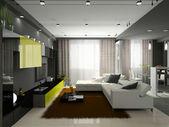 interiér stylový apartmán