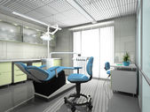 Fotografie Interior of a stomatologic cabinet