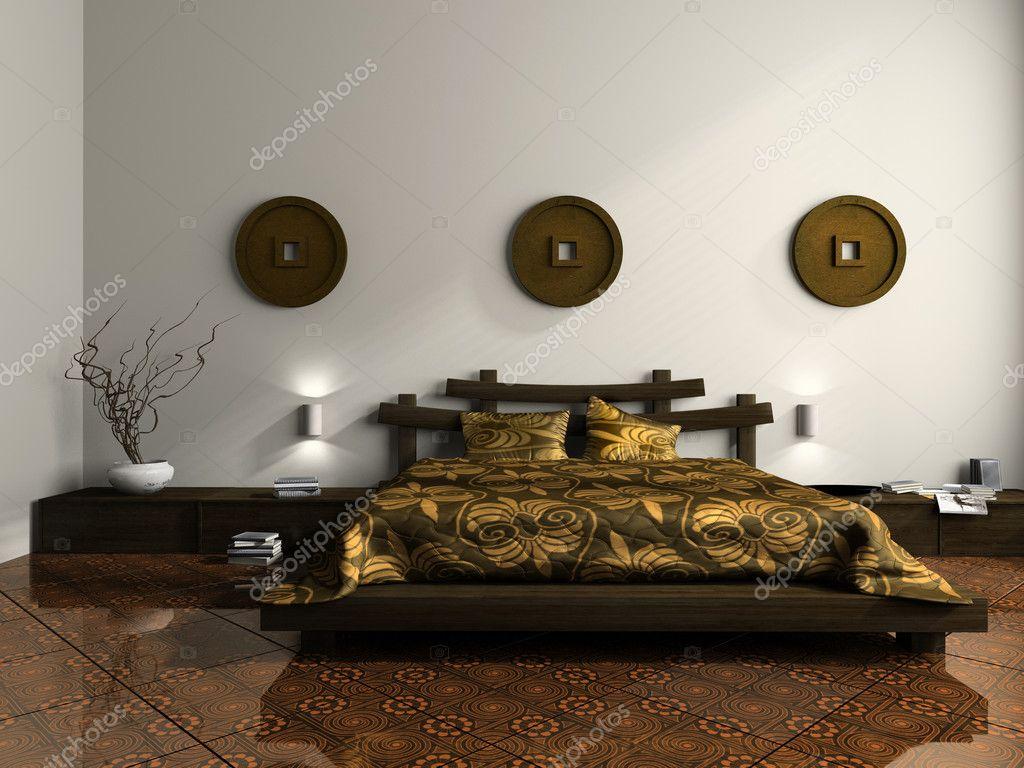 Camera Da Letto Etniche Foto : Lussuosa camera da letto in stile etnico u2014 foto stock © hemul75 #2648401