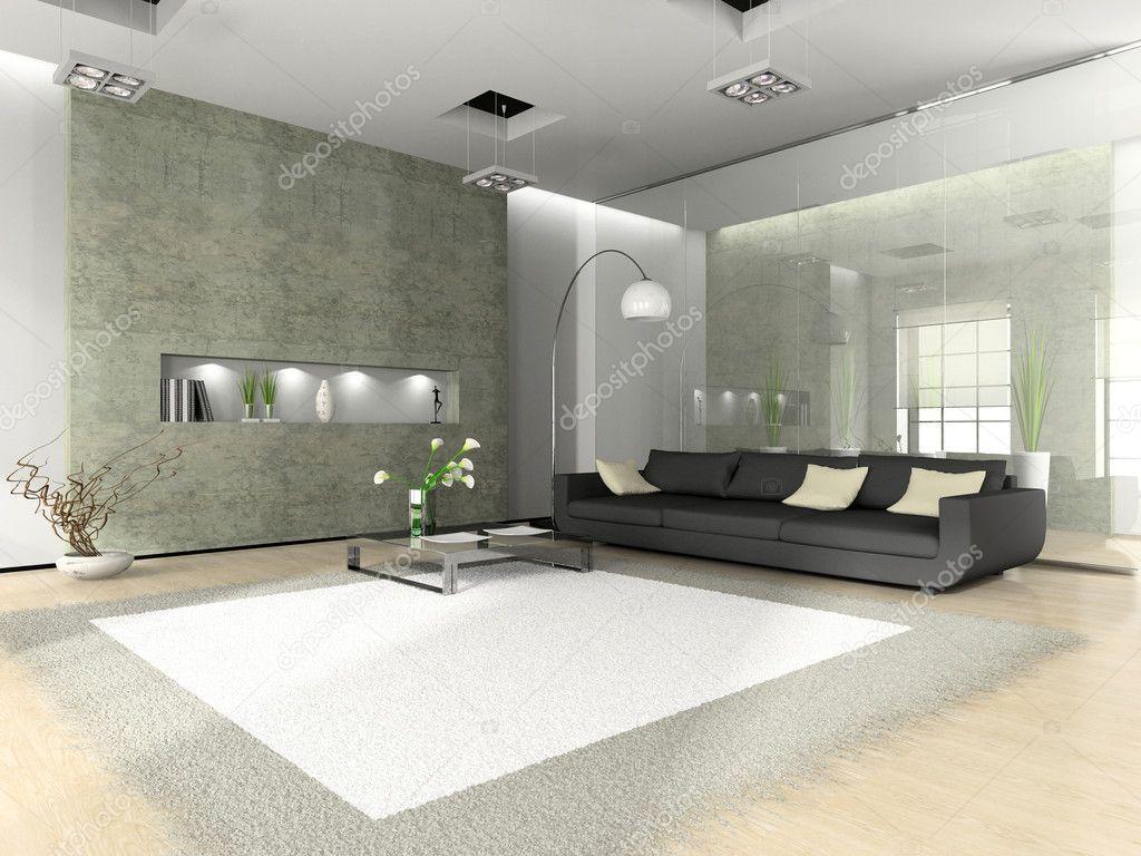 Interni moderni con divano foto stock hemul75 2649041 for Interni moderni foto