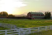 Fényképek vidéki - tanya körülvevő kerítés