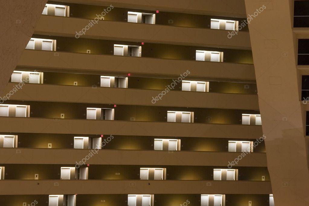 Luxor Pyramid Hotel Rooms — Stock Photo © mdilsiz #2601072