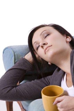 Cute Teen Girl Sleeping